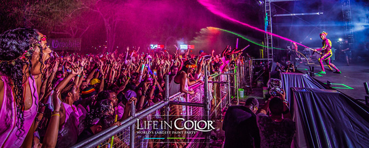 Life in Color heads to Johannesburg!
