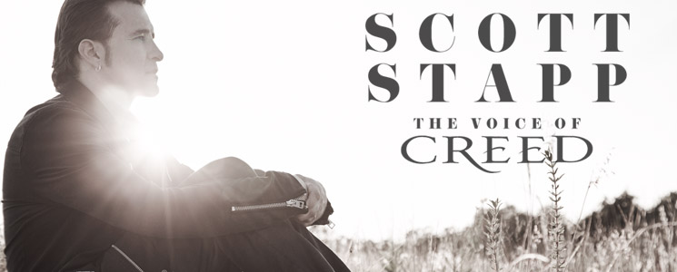 Scott Stapp [The Voice of Creed] to Rock SA